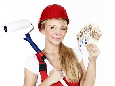 Fassade streichen und Geld sparen
