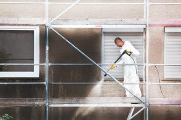 Reinigung Fassade