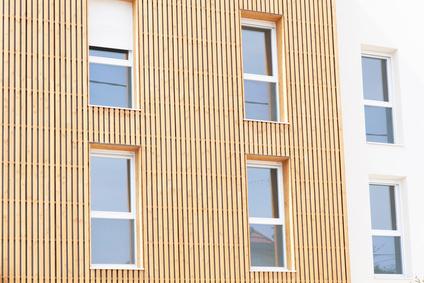 Fassadenverkleidung aus Holz
