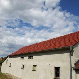 Dachbeschichtung auf Tondachziegeln
