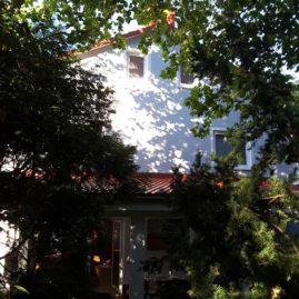 Fassade mit Algenschutz