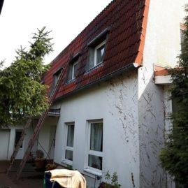 Fassade und Dach vorher