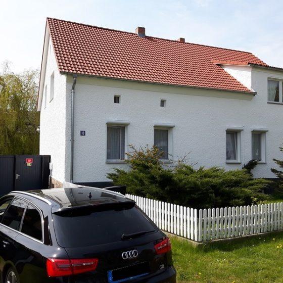 Fassadenanstrich weiß in Brandenburg