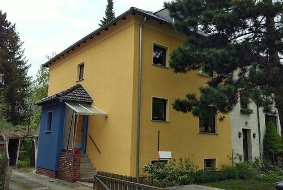 Fassadensanierung Einfamilienhaus
