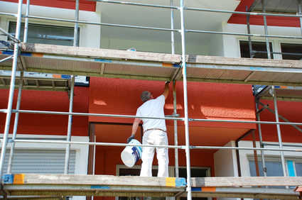 Maler Fassade